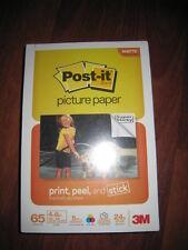 3M 65 Sheets 4x6 Post-It Print, Peel, & Stick Picture Paper