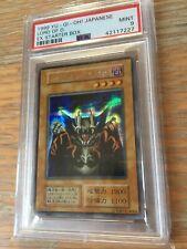 Yugioh PSA 9 Lord Of D 1999 Secret! Pop 1!