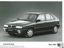 Lancia delta 1.8 le 1993 original press photo parfait état
