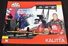 Doug Kalitta Mac Tools Top Fuel NHRA Autographed HANDOUT/POSTCARD