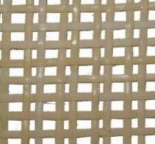 "Medium Modern Danish Weave -Bleached Pre-woven cane webbing 24""wide. chair"