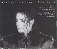 Who Is It - Michael Jackson cd single