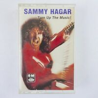 Sammy Hagar Cassette Turn Up the Music