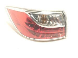 2010-2012 Mazda CX-9 DRIVER Taillight Tail Light Lamp Brake Stop Clear LEFT oem