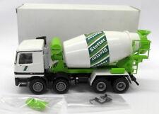 Conrad 1/50 Scale Diecast - STET Stetter Mercedes Cement Mixer Model Truck