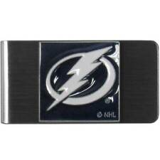Tampa Bay Lightning Stainless Steel Money Clip NHL Licensed Hockey