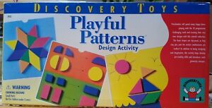 Playful Patterns Discovery Toys Preschool Pre-reading Geometry