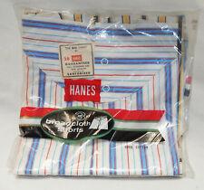Nos 1960's Men's Hanes Broadcloth Boxer Shorts Underwear Size 28