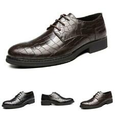 Mens Low Top Leisure Faux Leather Shoes Pointy Toe Work Office Banquet Casual L