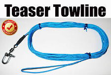 Teaser Tow Line - Pro Series 10m. Perfect Tow Rope for all Game Fishing Teasers