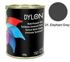 DYLON Elefant Grau Mehrzweck Farbstoff 500 g Zinn