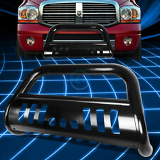 Black SS Front Bumper Bull Bar Grille Guard for 2009-2016 Dodge Ram 1500 Truck