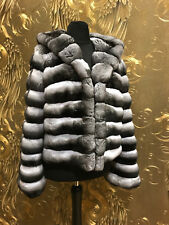 CHINCHILLA JACKE CHINCHILLA JACKET CHINCHILLA PELZ JACKE KAPUZE Шиншилла куртка