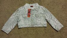 NWT!! Isle Apparel Jean Jacket size small S - gray/bolero - 3/4 sleeves
