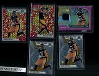2020 Panini Prizm Football Chase Claypool Rookie Gear Patch Mosaic Reactive Lot