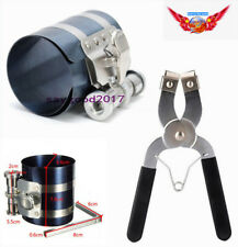 "2PCS 3"" Car Ratchet Style Piston Ring Compressor & Installer Pliers service Kit"