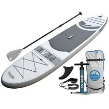 PEAK Inflatable 10'6 Stand Up Paddle Board Complete Package
