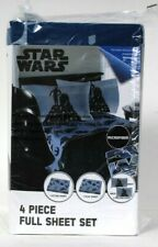 Jay Franco & Sons Disney Star Wars Microfiber Polyester 4 Piece Full Sheet Set