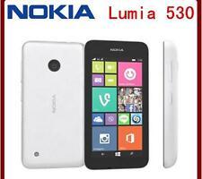 Original unlocked Nokia Lumia 530 Quad Core Dual Sim RAM 512MB ROM 4GB 5MP 3G