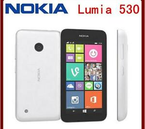 Original unlocked Nokia Lumia 530 3G Single Dual Sim RM-1017 RM-1019 Quad Core