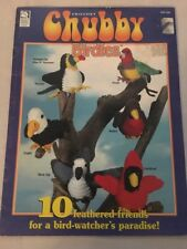 Chubby Birdies Crochet Pattern Booklet HWB 101135 Eagle Turkey Toucan And More
