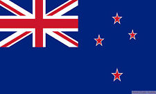 """NEW ZEALAND 18"""" x 12"""" FLAG suitable for Boats Caravans Treehouses flags"""