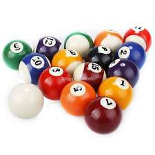 "New Durable Pool Billiard Balls Regulation Standard 2.25"" Size Full Set"