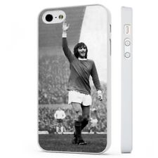 George Best Manchester United Fc WHITE PHONE CASE COVER fits iPHONE