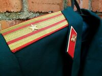 Jacket Officer's Army Coat Green Size: L,  With Pants Sz: M Military USSR