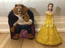 Disney Beauty & The Beast Belle Plastic Vinyl Hand Puppets Figurines Pizza Hit