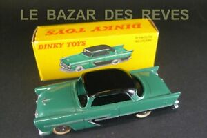 DINKY TOYS FRANCE. PLYMOUTH BELVEDERE. REF: 24 D. + Boite. (lot2)