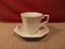 Johnson Brothers China Heritage White Cup & Saucer Set