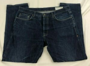 imogene + willie Charlie Sz. 36x30 Handmade Dark Wash Jeans!