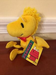 Applause Plush Peanuts Woodstock with Tag Stuffed Animal Toy