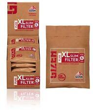 10 x 120er GIZEH PURE XL Slim Filter 6mm Beutel Drehfilter Eindrehfilter