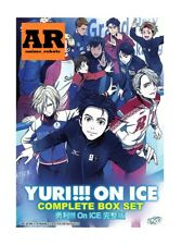 English dubbed of Yuri!!! On Ice (1-12End) Anime DVD English subtitle Region 0