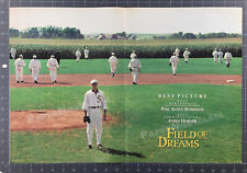 FIELD OF DREAMS__Orig. 1990 Trade AD / poster_Oscar AD__KEVIN COSTNER__baseball