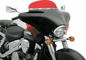 Memphis Shades MEM7031 Batwing Motorcycle Fairing Black