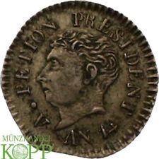 AA4116) Haiti Republic 12 Centimes, AN 14 (1817) RARE