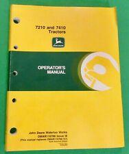 John Deere 7210 7410 2wd Amp 4wd Tractors Operators Manual Omar116788