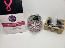 OPEN BOX Scentsy Ribbons Of Hope, Full Size Warmer, Breast Cancer Awareness