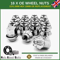 16 x Alloy Wheel Nuts OEM Style M12x1.5 For Ford Mondeo MK1 MK2 MK3 MK4 MK5