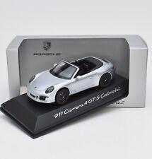 Schuco WAP0201030F Porsche 911 4 GTS Cabriolet in silber, 1:43 , OVP, K117/12