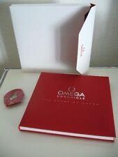 Omega Chronicle Buch book Schuber Geschichte der Firma Omega Schlüsselband Neu