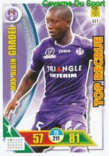 511 MAX-ALAIN GRADEL TOULOUSE.FC TFC TOP RECRUE CARTE CARD ADRENALYN 2018 PANINI