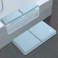 Baby Bath Kneeler Elbow Rest Bath Mat Non-Slip Kneeling Pad Cushion 4 Pockets