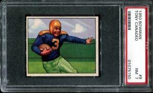 1950 Bowman #9 Tony Canadeo RC PSA 7 Green Bay Packers HOF Gonzaga