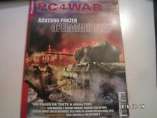 ** PC 4 War n°54 Achtung Panzer / Skyrim vs Witcher 2 / Time of Fury