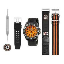 Luminox мужские часы комплект Скотт Касселл оранжевый циферблат 3059.SET — авторизованный дилер