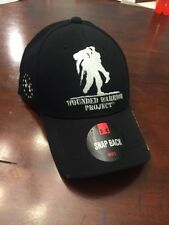 Under Armour UA Wounded Warrior Project WWP Black 1251960 Snapback Men Cap